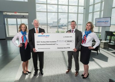American Aero FTW Hits $100,000 Mark With Annual Donation To The Navy SEAL Foundation