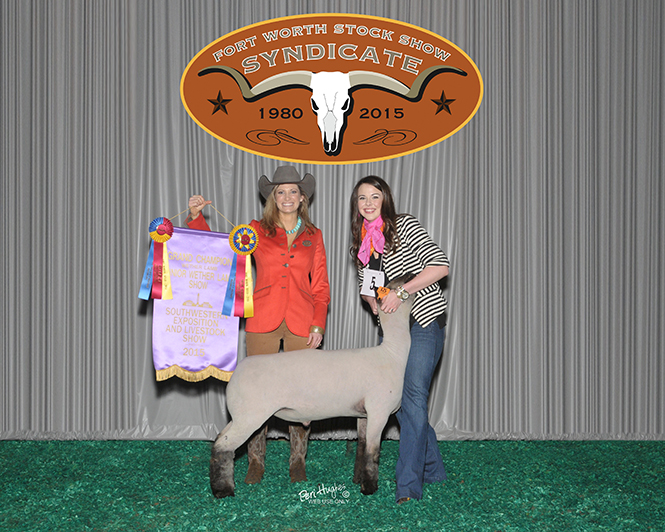 Purchase of Grand Champion Lamb Raises Funds for Students at Fort Worth Stock Show and Rodeo