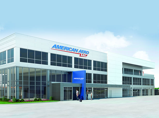 American Aero FTW to be Major Tenant in Renovated & Expanded Meacham International Airport Administration Building in Fort Worth