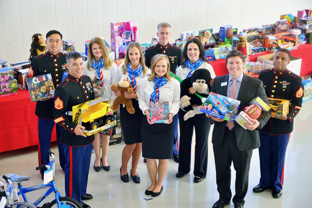 American Aero FTW Hosts 5th Holiday Toy Drive to Benefit U.S. Marine Corps Reserve Toys for Tots Program