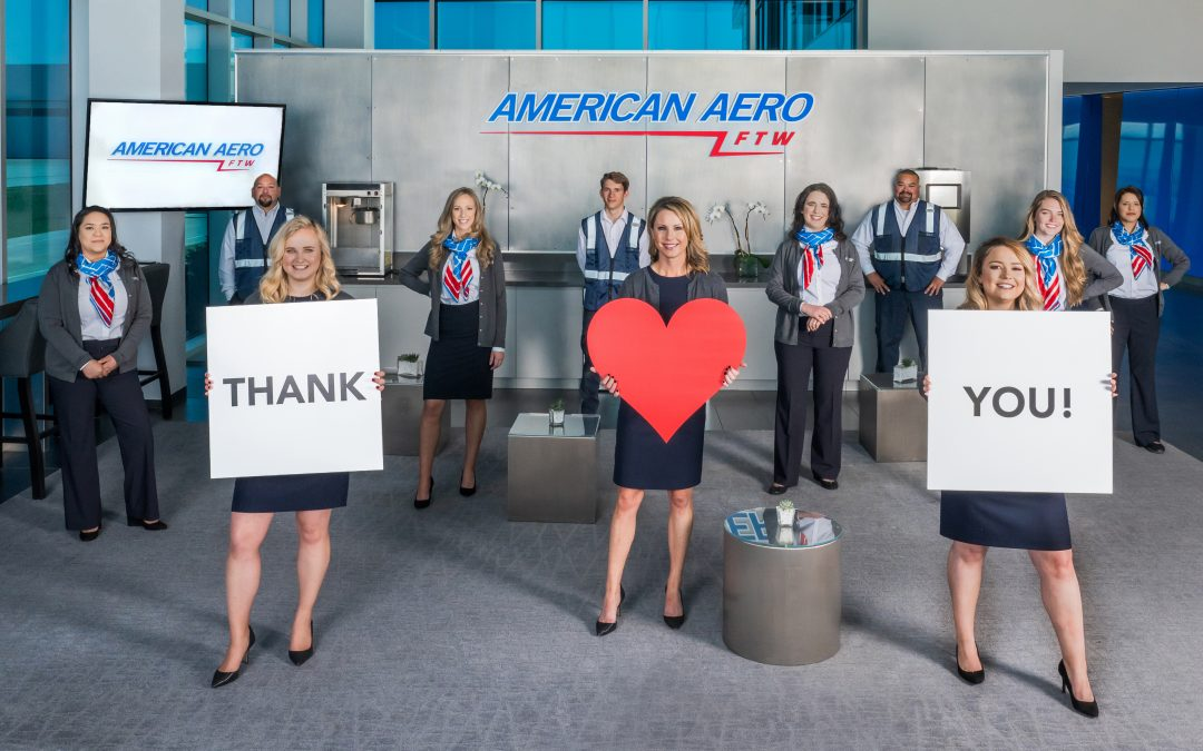 Thank you Business Air for helping us tell our story!